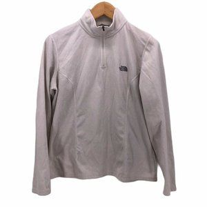 The North Face Womens Fleece Jacket Light Gray XL
